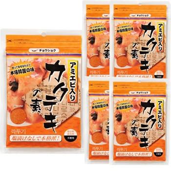 カクテギの素120gx5個 切ってまぜるだけで本場韓国の味!保存料、着色料、不使用 より安いメール便