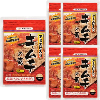 キムチの素 118gx5個 切ってまぜるだけで本場韓国の味! 韓国食品・韓国食材・キムチ材料 より安いメール便