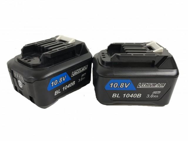 1年保証 BL1030B マキタ 互換 バッテリー 2個セット 10.8V~12V 3000mAh 3.0Ah BL1015B BL1030 BL1040B BL1050B BL1060B 対応