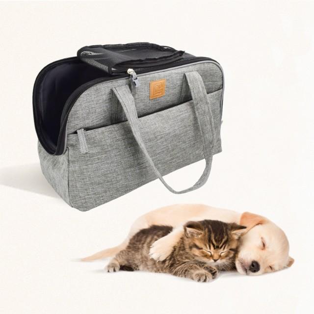 ドッグ キャリーバッグ 犬 小型犬 ペット 猫 折り畳み式 トートバッグ