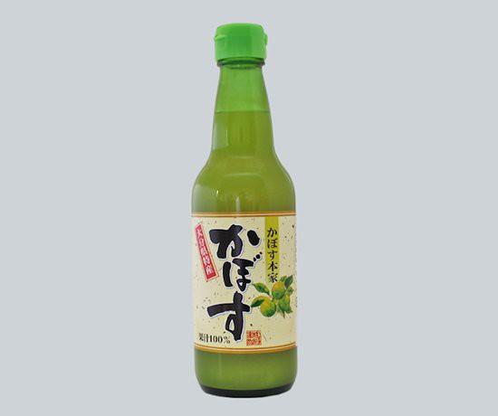 かぼす果汁 360ml 大分県産 100% お徳用サイズ 送料無料 九州 お取り寄せ おおいた カボス 果汁 大分 かぼす