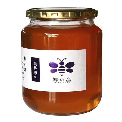 れんげはちみつ 1kg(ガラス瓶入り)国産 料理やスイーツにぴったり 調味料としても活躍! 蜂蜜 ハチミツ 国産はちみつ