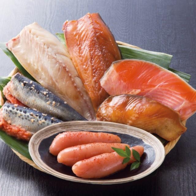 福岡 博多 海の幸セット グルメセット 鍋 めんたいこ いわし明太 銀ダラ 鯖 産地直送 産直便