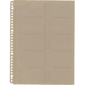 キングジム<KING JIM> 名刺ホルダーA4−S台紙(30穴) 39D