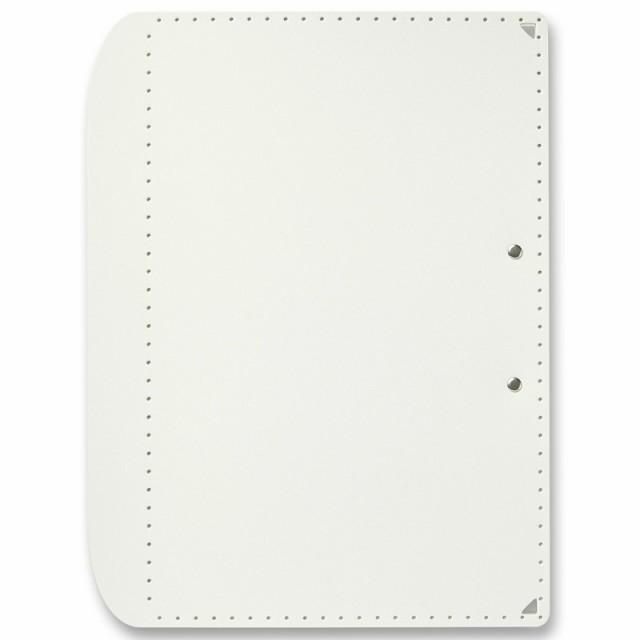 プラス (PLUS) A4サイズ に折りたためる A3クリップボード+ ホワイト FL-501CP 83-152