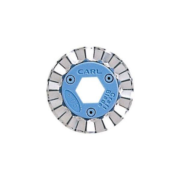 カール事務器<CARL> ディスクカッター・シャカット対応替刃 クラフトブレイド ピンキング B-05