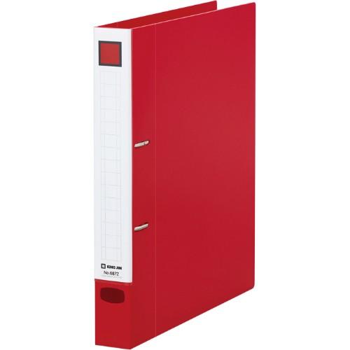 キングジム<KING JIM>レバーリングファイル Dタイプ 赤 A4 タテ型 6872 250枚