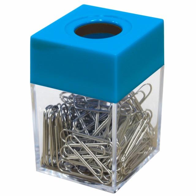 プラス(PLUS)クリップケース ゼムクリップ用 ブルー ゼムクリップ120個入 CP-501 81-304