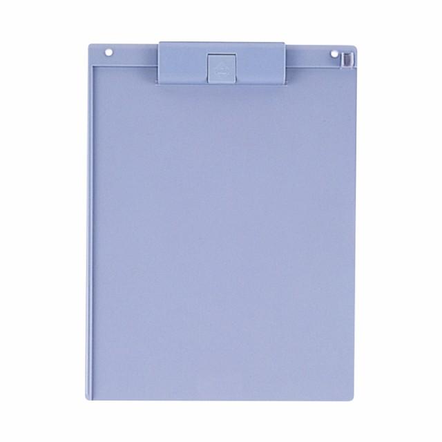 プラス(PLUS)クリップボード 樹脂製 A4-E ブルー FL-411CP  83-234