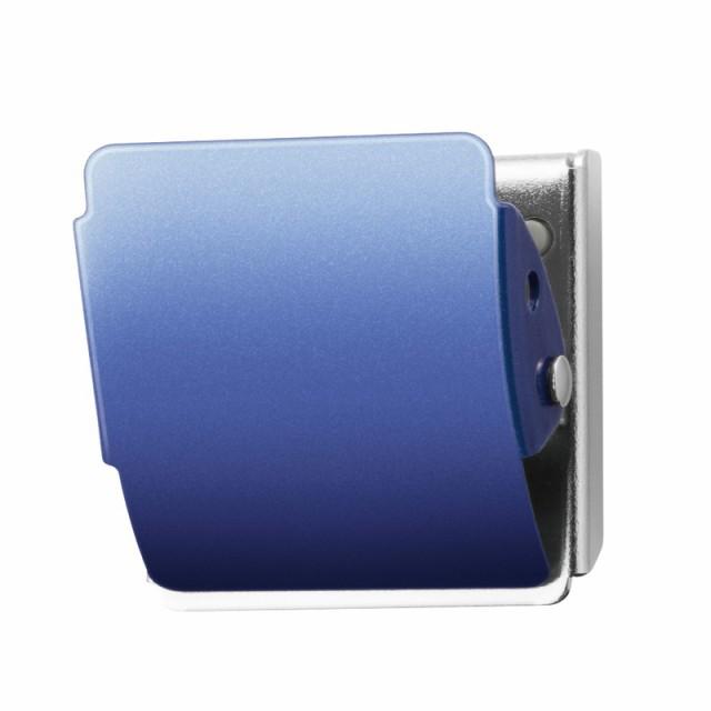 プラス(PLUS) マグネットクリップ ホールド.M CP-040MCR-B ブルー 80-416