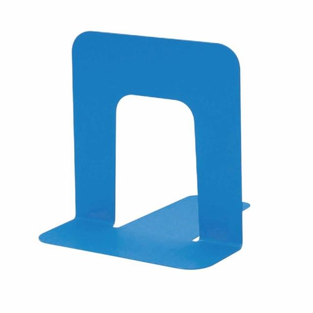 プラス(PLUS)ブックエンド 本立 Sサイズ ブルー BS-203 36-338