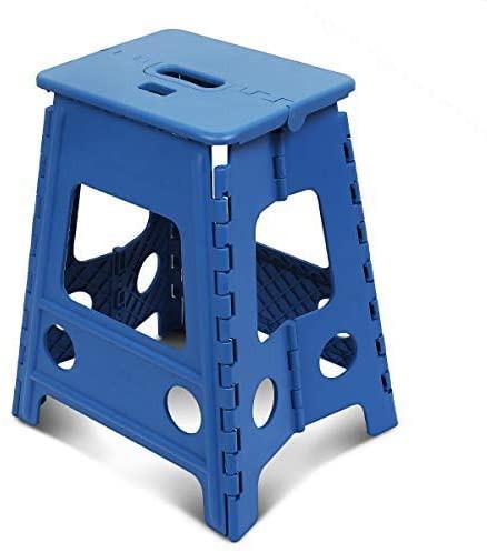 踏み台 折り畳み ステップ コンパクトスツール 脚立 丈夫で十分安全 大人/子供兼用 折りたたみはしご 簡単収納/開封 キッチン トイレ キ