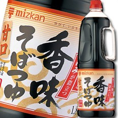 【送料無料】ミツカン 香味そばつゆ 甘口ハンディペット1.8L×2ケース(全12本)