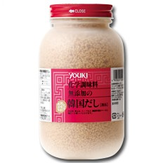 【送料無料】ユウキ食品 化学調味料無添加の韓国だし400g×1ケース(全12本)
