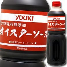 【送料無料】ユウキ食品 化学調味料無添加オイスターソース1.2kg×1ケース(全6本)