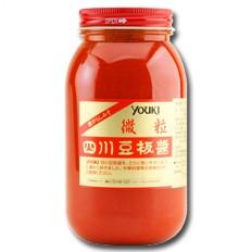 【送料無料】ユウキ 四川豆板醤(微粒)1kg×1ケース(全12本)