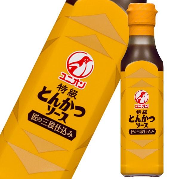 【送料無料】ユニオンソース ユニオンソース 特級とんかつソース200ml瓶×1ケース(全12本)