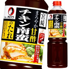 【送料無料】オタフクソース オタフク チキン南蛮たれ ペットボトル1250g×2ケース(全12本)