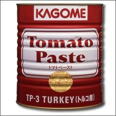 【期間限定ポイント10倍】【送料無料】カゴメ トマトペースト(トルコ産)3200g×1ケース(全6本)