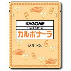 【送料無料】カゴメ パスタソースカルボナーラ140g×1ケース(全60本)