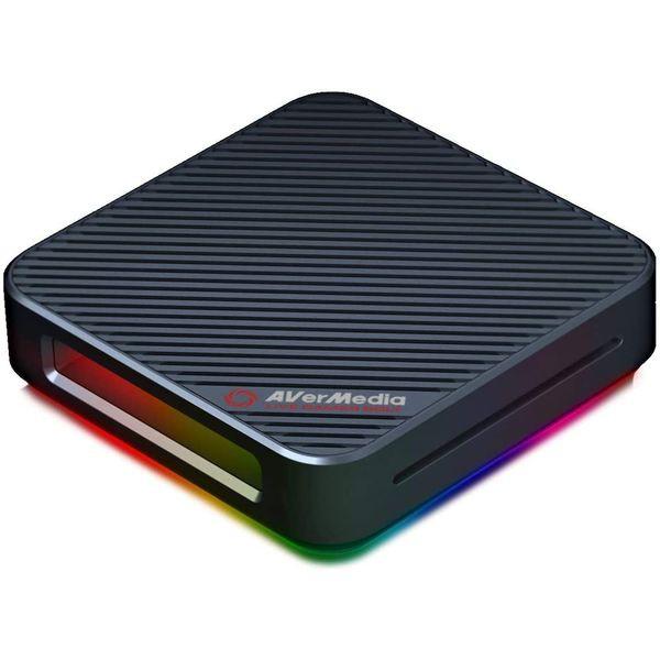 【 新品 】 Avermedia Live Gamer BOLT GC555 4Kパススルー 録画 対応 Thunderbolt3接続 外付け Windows 対応 HDMI ( GC555 )