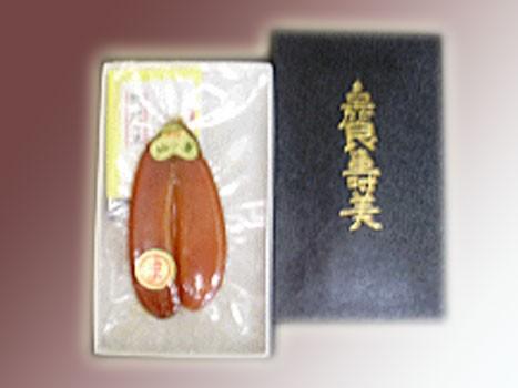 お中元ギフト長崎「松庫商店 からすみ紙箱」約70g クール便