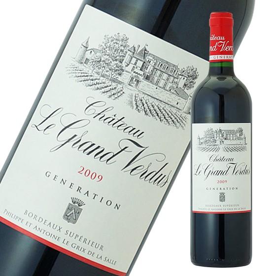 シャトー・ル・グラン・ヴェルデュ ジェネレーション 750ml フランス 赤ワイン フルボディ