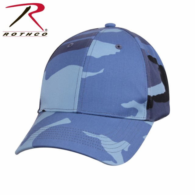 スカイブルー迷彩 ミリタリー シュプリーム キャップ ロスコRothco Color Camo Supreme Low Profile Cap