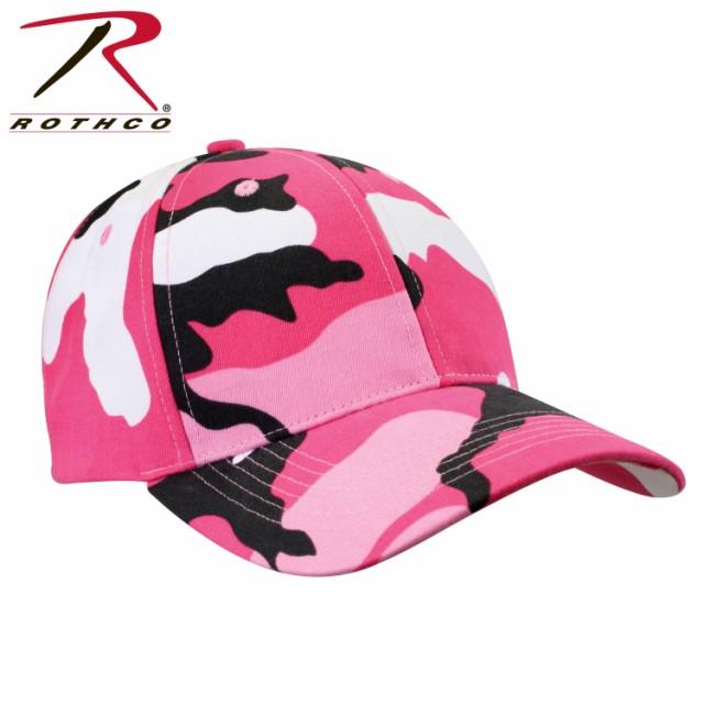 ピンク迷彩 ミリタリー シュプリーム キャップ ロスコRothco Color Camo Supreme Low Profile Cap