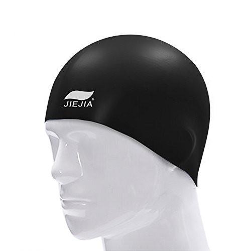 JIEJIA スイムキャップ 水泳専門 水泳帽 シリコン 防水 スイミングキャップ 水泳 帽子 フィットネス用 トレーニング用