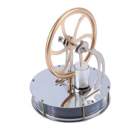 教育玩具 科学 実験キットステンレス鋼 低温度 ミニ 熱気 スターリングエンジンモータモデル 熱蒸気 CZJA847