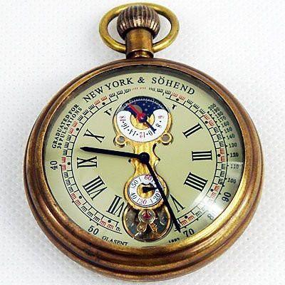 懐中時計 メンズ アンティーク 純銅製 手巻 レトロ ヴィンテージ メカニカル スチームパンク SEWOR