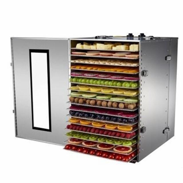 食品乾燥機 業務用 ドライフルーツ 野菜 温度時間制御 ステンレス鋼 食品プロセッサ