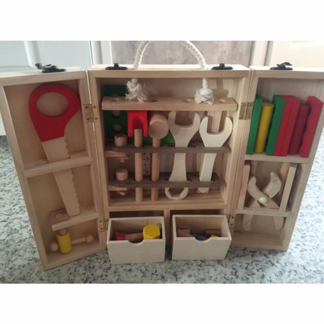 工具セット おもちゃ 子供用 木製 ベビー キッズ 教材 知育玩具 ツール 大工