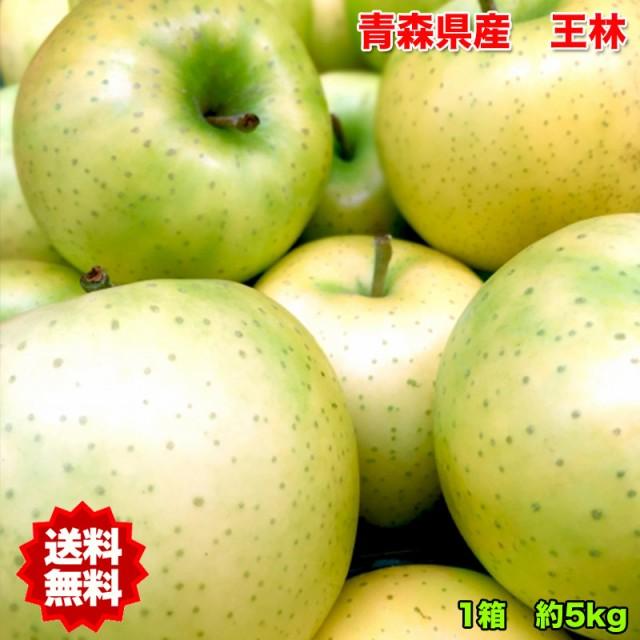 訳あり 送料無料 青森県産王林りんご 約5kg 糖度保証 サイズいろいろ ※北海道・沖縄県・離島は除く