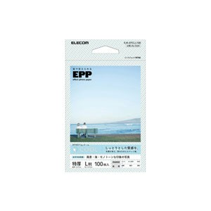 エレコム 写真用紙/エフェクトフォトペーパー/クール/L判/100枚 EJK-EFCLL100