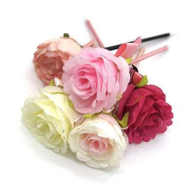 ロジック ボールペン フラワー [LG-PEN-FLOWER] 文房具 ペン 花 かわいい きれい おしゃれ 大きめ ゴージャス お祝い 結婚式 パーティ 二