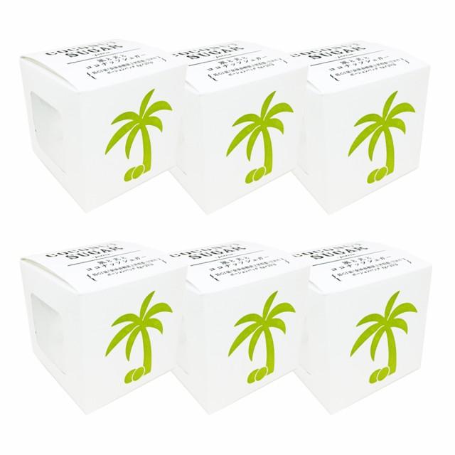 オーガニックココナッツシュガ— ポーション ×6個セット