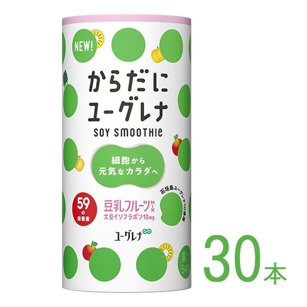 からだにユーグレナ Soy Smoothie 豆乳フルーツMIX 30本