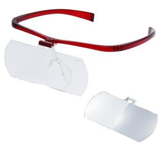 生産完了の場合は後継機となります【送料無料】Vixen・ビクセン 拡大鏡 メガネルーペ アイフィールII 1.6 W(WR) スペアレンズ2倍付