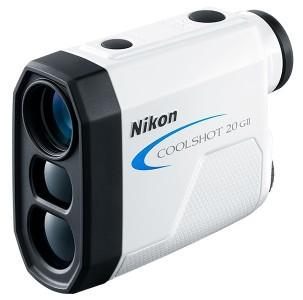 【送料無料】Nikon・ニコン 直線距離専用モデルゴルフ用レーザー距離計 クールショット COOLSHOT 20 GII