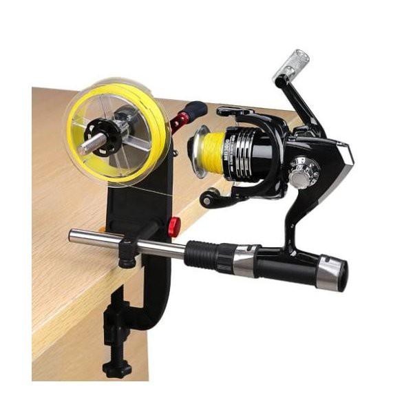 釣り糸スプーラー ポータブル スプーリング リール ライン巻き機 ワインダー フィッシングツール アウトドア