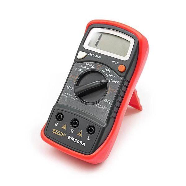 DIY工具 測定器 電気計測器 デジタル 絶縁抵抗テスター ポータブル 絶縁抵抗計