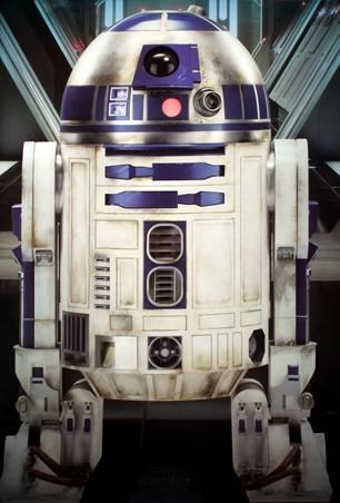 スターウォーズ R2-D2 ポスター/エピソード7 フレーム付