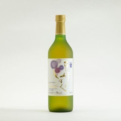 熊本ワイン 巨峰のしずくエッセンス 白 極甘口 氷結仕込 神の雫登場の菊鹿シャルドネ ワイナリー