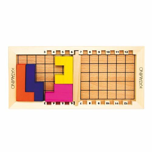 ギガミック カタミノ Gigamic katamino ブロック 木製パズル おもちゃ 知育玩具 テトリス