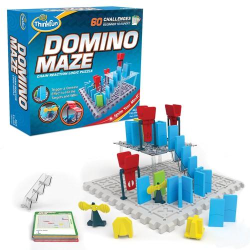 シンクファン ドミノメイズ ThinkFun Domino Maze ボードゲーム おもちゃ 知育玩具 立体パズル おもちゃ 正規輸入品