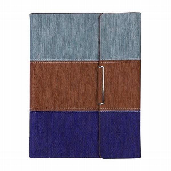 ノート a5 手帳 ビジネス日記帳 磁気ノート ペンホルダー付き ルーズリーフ システム手帳 ノートブック 磁気ス