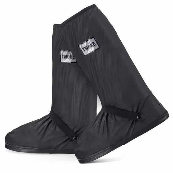 シューズカバー 防水 レインカバー 靴カバー 折りたたみ 靴保護 梅雨対策 通勤通学 自転車 バイク用 お手入れ簡単 滑り止め 軽量 履きや