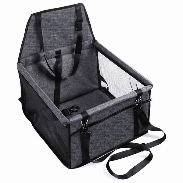 ペット用ドライブボックス 車用ペットシート 座席シート 折り畳み式カバー 飛び出し防止 防水 通気 洗濯可 汚れにくい 犬 猫 旅行 ペット